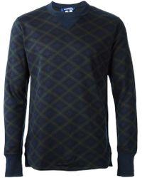 Junya Watanabe Patterned Sweatshirt - Lyst