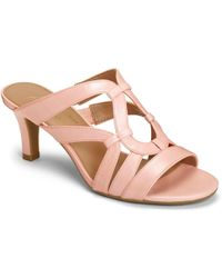 db436e65564d Lyst - A2 By Aerosoles Passageway Strappy Slide Sandal in Pink ...