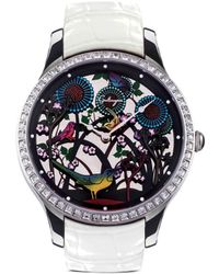 Galtiscopio - 'vie Dans La Foret' Crystal Watch - Lyst