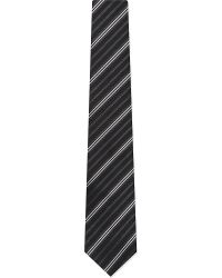 Armani Stripe-Print Tie - For Men - Lyst