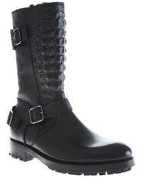Philipp Plein - Studded Combat Boots - Lyst