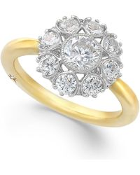 Marchesa Star By Certified Diamond Ring In 18K Gold (1-1/3 Ct. T.W.) gold - Lyst
