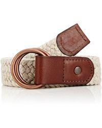 Caputo & Co. - Men's Braided Belt - Lyst