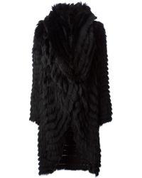 Helen Yarmak International Oversized Coat - Black