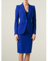 Alexander McQueen Blazer and Skirt Suit - Lyst