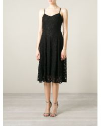 MICHAEL Michael Kors Spaghetti Strap Lace Dress - Lyst