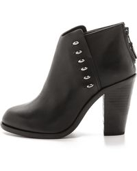 Rag & Bone Allwyn Booties - Black - Lyst