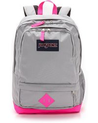 Jansport - Classic All Purpose Backpack  Fluorescent Pink - Lyst