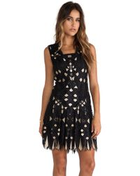 Anna Sui Diamond Lace Dress - Lyst
