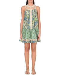 Zimmermann Infinity Floral Cotton And Silk-Blend Summer Dress - Lyst