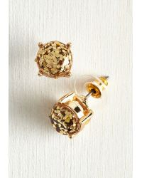 Ana Accessories Inc | Glitter And Glee Earrings In Gold | Lyst