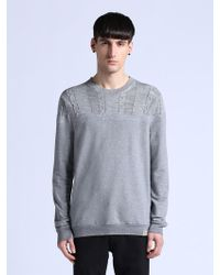 Diesel Gray Klata Sweater - Lyst