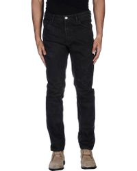 Nicolo' Ceschi Berrini - Denim Trousers - Lyst