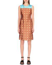 Dries Van Noten Dorote Brocade Dress - For Women - Lyst