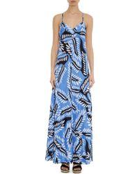 Diane von Furstenberg Barths Silk-Crepe Dress - Lyst