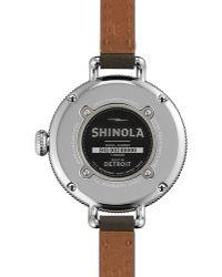 Shinola - The Birdy Watch, 34mm - Lyst