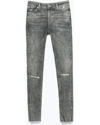 Zara Skinny Jeans - Lyst