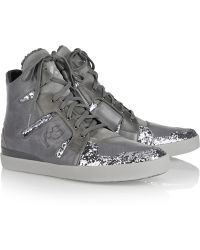 Y-3 Inkar Leather Sneakers - Lyst