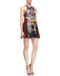 Mary Katrantzou Clocktopia Multiembellished Dress - Lyst