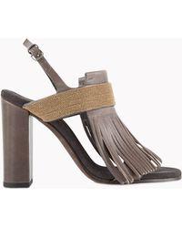 Brunello Cucinelli Sandals - Lyst