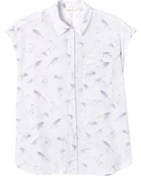 Rebecca Taylor Flock Together Top - Lyst
