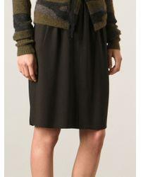 Etoile Isabel Marant Midlength Straight Skirt - Lyst