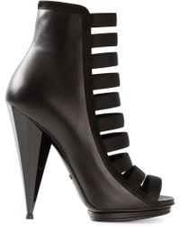 Gucci Strappy Ankle Boot - Lyst