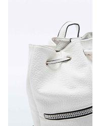 Deena & Ozzy - Zip Duffle Backpack In White - Lyst