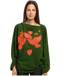 Vivienne Westwood Gold Label Infinity Birds Poncho - Lyst