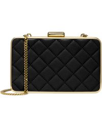 Michael Kors Michael Elise Quilted Box Clutch - Lyst
