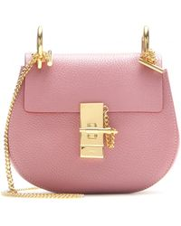Chloé Drew Small Leather Shoulder Bag - Lyst