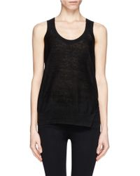 Theory Hopeswell Knit Tank Top - Lyst