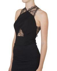 Noam Hanoch Black Lisi Bodysuit - Lyst
