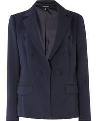Ellen Tracy - Double Breasted Jacket - Lyst