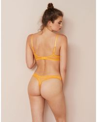 Agent Provocateur - Anna Thong Yellow - Lyst