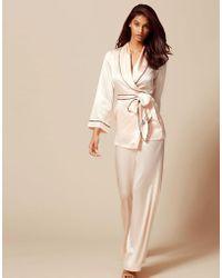 Agent Provocateur - Classic Pyjama Bottom Pink - Lyst