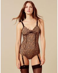 Agent Provocateur Elsey Body Nude And Black