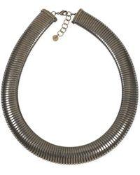 agnès b. - Old Bronze Callie Necklace - Lyst