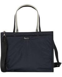 agnès b. - Black Nylon Canvas Shopping Bag - Lyst