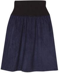 agnès b. - Blue Auriane Skirt - Lyst