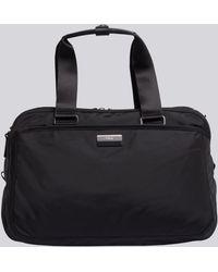 agnès b. - Black Canvas Weekend Bag - Lyst