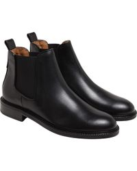 agnès b. - Black Margot Boots - Lyst