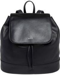 agnès b. - Black Backpack - Lyst