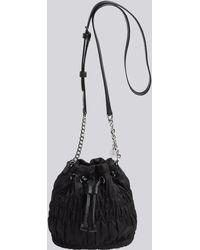 agnès b. - Smocked Fabric Bucket Bag - Lyst