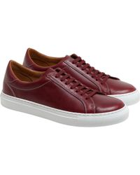 agnès b. - Burgundy Come Sneakers - Lyst