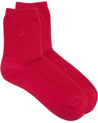 Agnes B. | Red Rio Socks | Lyst