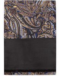agnès b. - Blue Silk Matti Scarf - Lyst