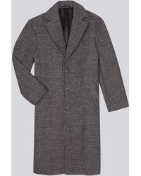 agnès b. - Grey Wool Coat - Lyst