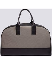 agnès b. - Black Leather Vigo Weekend Bag - Lyst