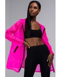 AKIRA - Rainy Day Sheer Raincoat - Lyst
